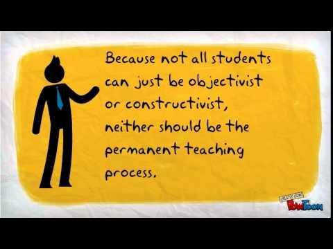 Constructivist and Objectivist learning