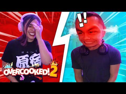 Couple Goes Berserk with Overcooked 2!