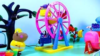Свинка Пеппа Праздник фруктов и ягод. Мультфильм с игрушками.  Peppa Pig.