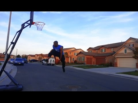 Thumbnail: BASKETBALL TRICK SHOTS! 1 on 1 Game of Horse LAYUP STYLE