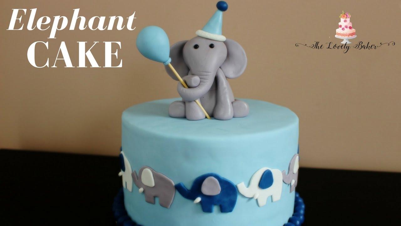 Elephant Cake Tutorial Youtube
