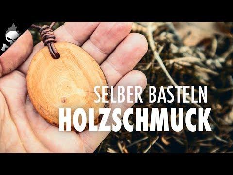 DIY Holzanhänger zum Muttertag – Muttertagsgeschenk mit Kindern im Wald basteln