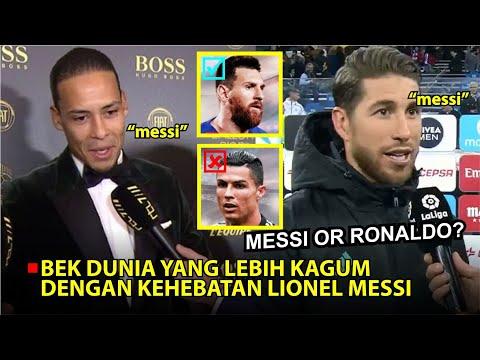 5 Bek Dunia Yang Mengaku Kagum Dengan Kehebatan Lionel Messi