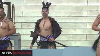 Traditional Maori Haka Performance for March on Washington 50th Anniversary