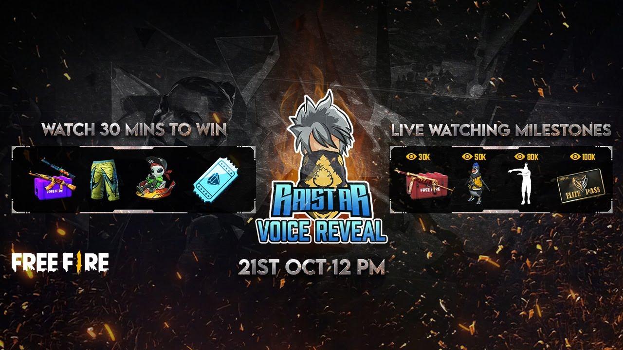 Raistar Is Live | Booyah Mega Event