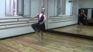 MAGNETIC ballet, pointe amazing fouettes