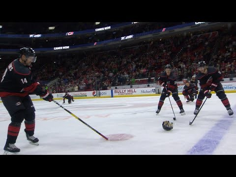 Muss - NHL's Hurricanes Home Win Celebrations Are Epic!