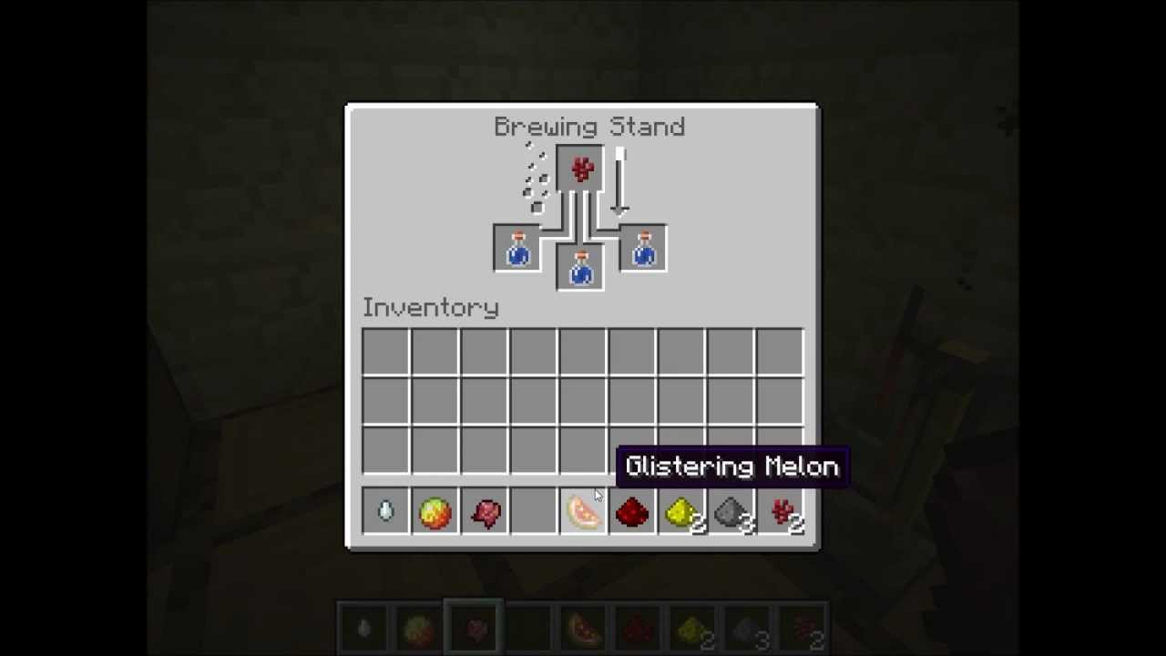minecraft how to make t2 potions