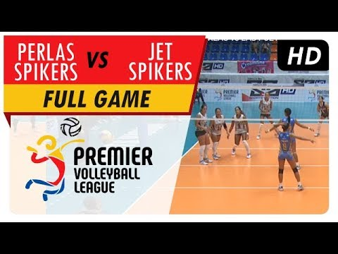 Perlas Spikers vs. Lady Jet Spikers | Full Game | Endzone View | 1st Set | PVL | May 2, 2017