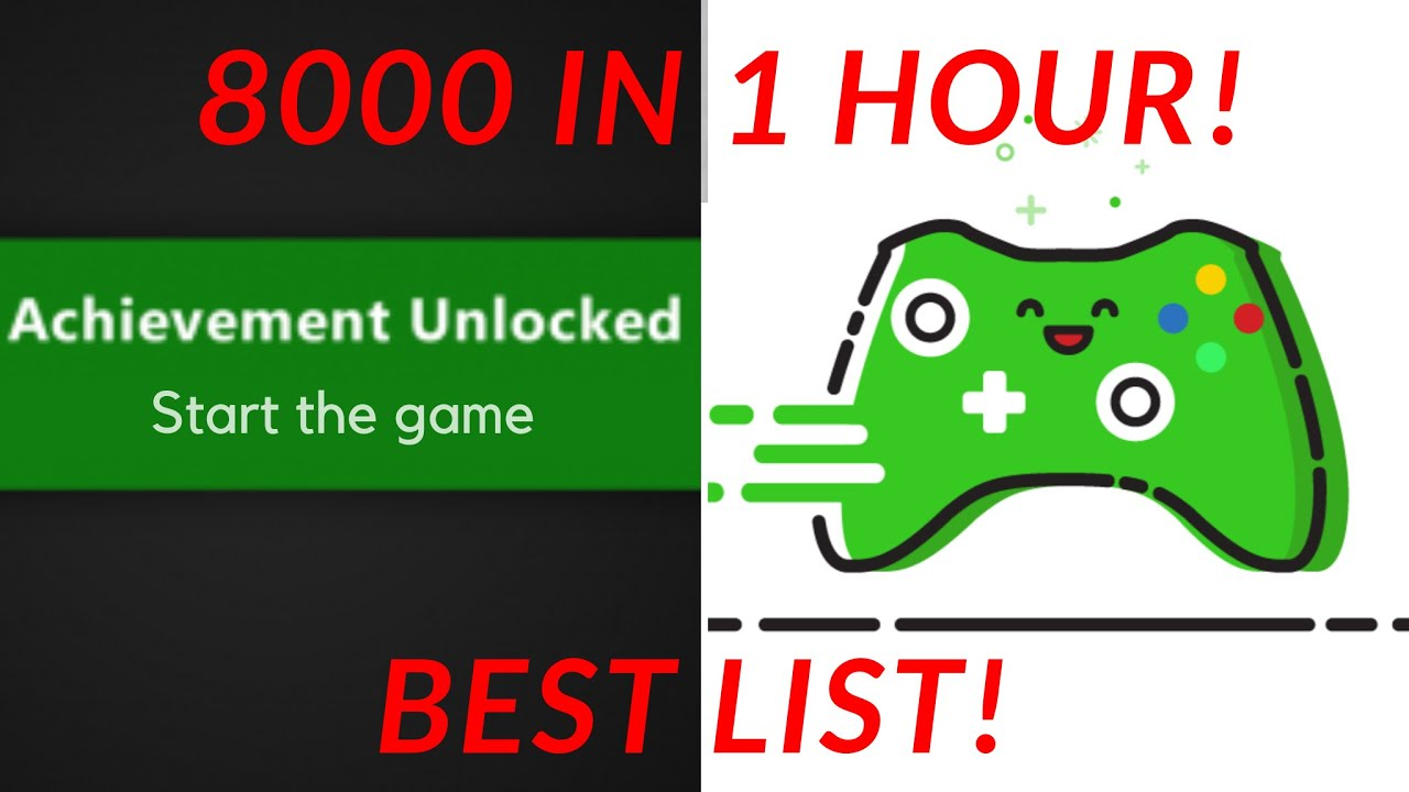 Best Free Games For Gamerscore Xbox One Gamewithplay