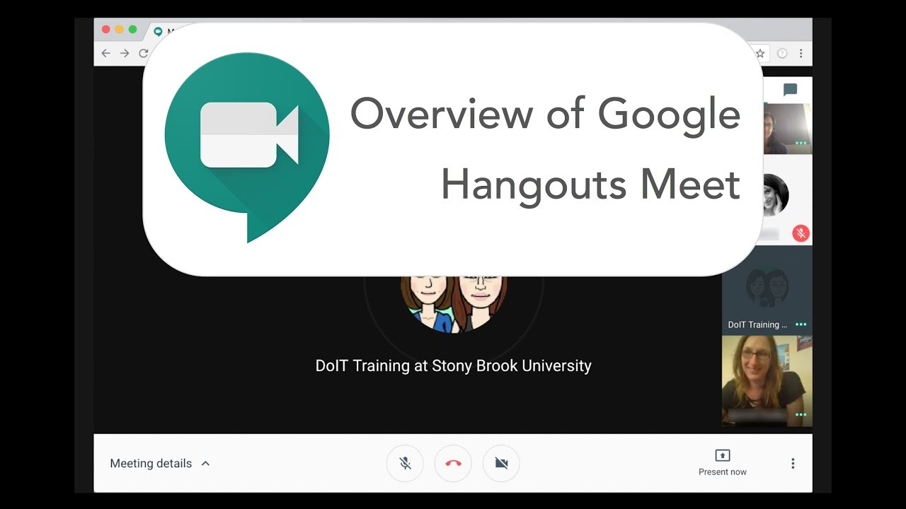 Google Hangouts Meet Overview