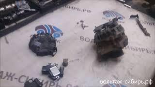 видео Ремонт генератора Kia (Spectra, Rio и Sportage): как снять, замена и натяжка ремня