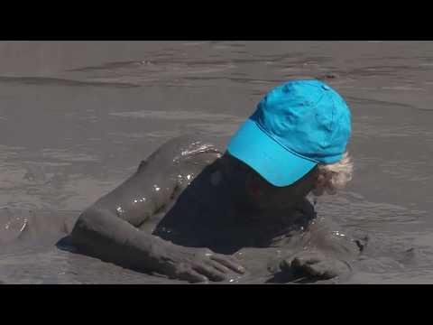 Thermal Mud Baths Spa at Krinides, Greece