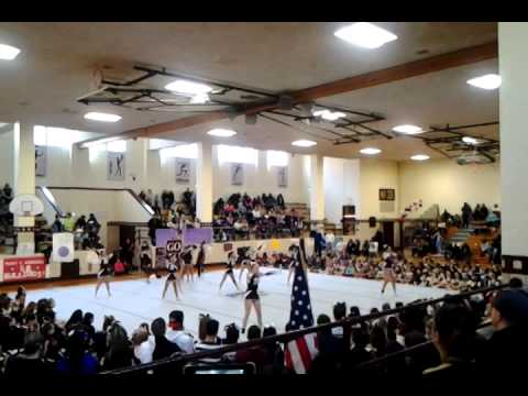 Bayonne High School Cheerleading 2014