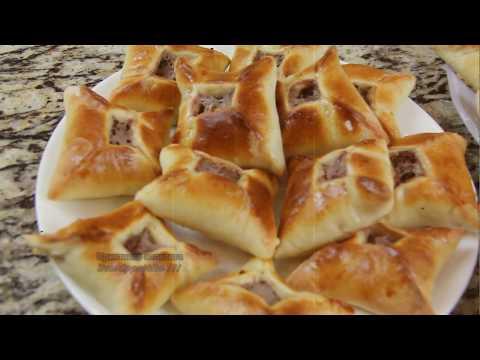 Lebanese meat pies, ливанские мясные пирожки, ground beef recipe, Arabic recipe, арабские рецепты