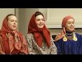 Прялочкю под лавочкю (русская народная песня, Russian folk song)