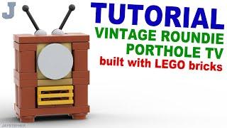 Tutorial - Lego Vintage TV [CC] Thumbnail