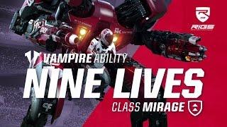 RIGS Mechanized Combat League | Nine Lives Vampire Ability | PlayStation VR