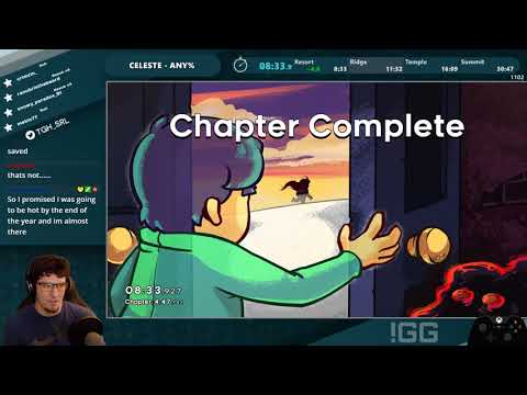 World Record - Celeste Any% Speedrun in 30:34