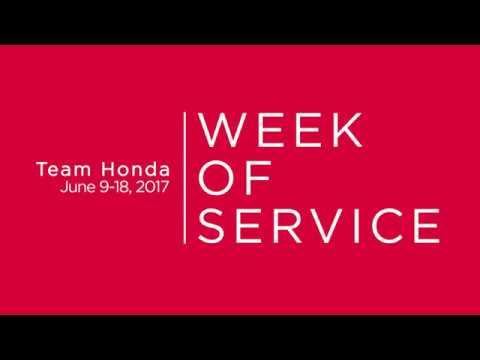 Team Honda Week of Service 2017