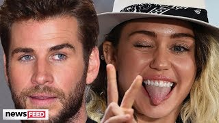 Liam Hemsworth Found Out About Miley Cyrus Split From The Internet!