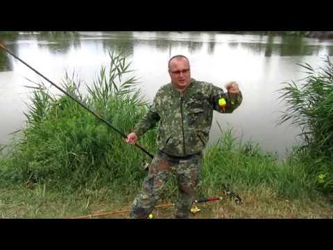 необычный способ ловли рыбы