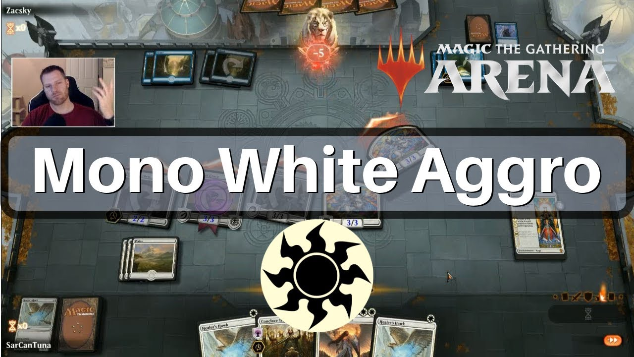 Mono White Aggro deck tech Unbreakable Formation is good - MTG Arena