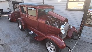 Test Drive 1929 Ford Model A $29,900 Maple Motors