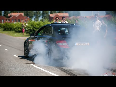 Supercars Accelerating - Aventador S, Armytrix M4, 750HP C63 Widebody, Liberty Walk 458,...
