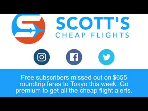 VLOG 062   Really Cheap Airfares