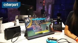 #Gamescom2019: Asus ROG Strix Gaming-Monitor mit Tripod für unterwegs