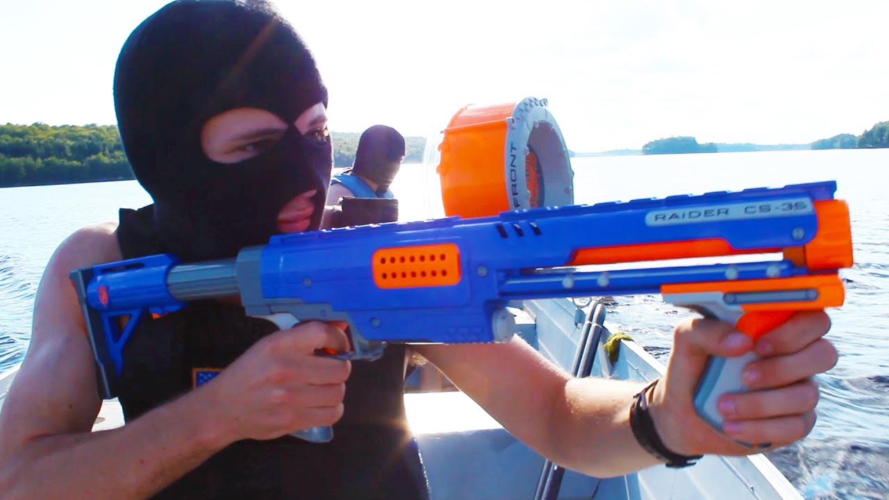 Nerf Squad 11: The Escape - YouTube