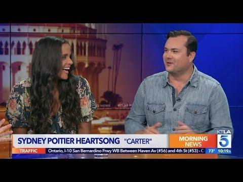 "Sydney Tamiia Poitier & Kristian Bruun talk Jerry O'Connell & TV Show ""Carter"""