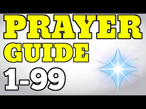 1-99 Prayer Guide Runescape 2015 - Fastest and Easiest Methods [P2P]