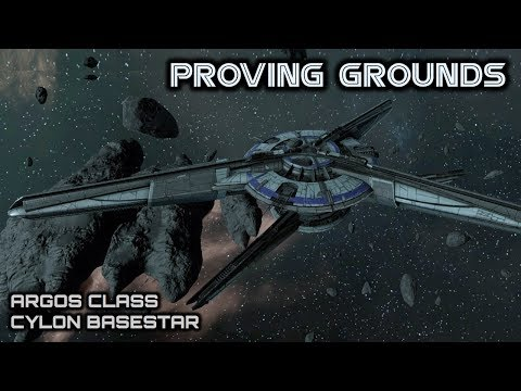Battlestar Galactica: Argos Class Cylon Basestar - Deadlock Proving Grounds - Spacedock