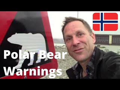 Borders on Budgets (#116): SVALBARD Airport and Polar Bear Warnings (Longyearbyen, NORWAY)