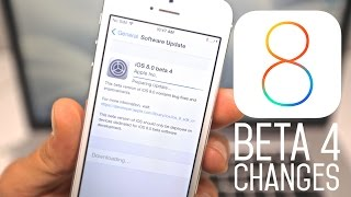 iOS 8 Beta 4 - What