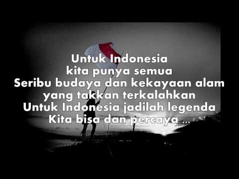 Superman Is Dead - Jadilah Legenda (lyrics on screen)