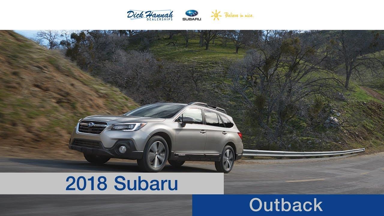 Dick Hannah Subaru >> 2018 Subaru Outback Review Dick Hannah Subaru