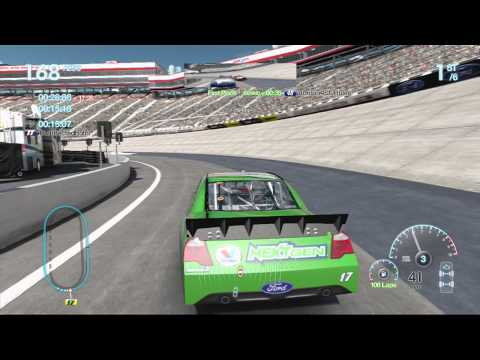 Nascar The Game: Inside line NEXL League at Bristol 4/36