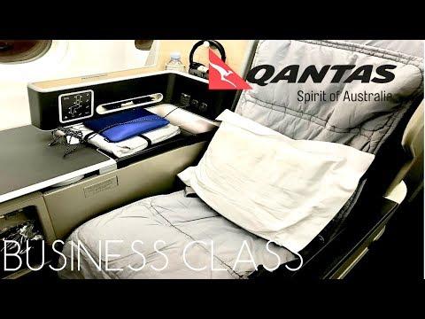 Qantas Business Class Airbus A330 Singapore to Melbourne Review