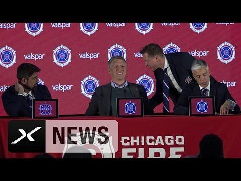 Holt Bastian Schweinsteiger den WM-Titel mit Chicago? Reporter blamiert sich | Chicago Fire | MLS