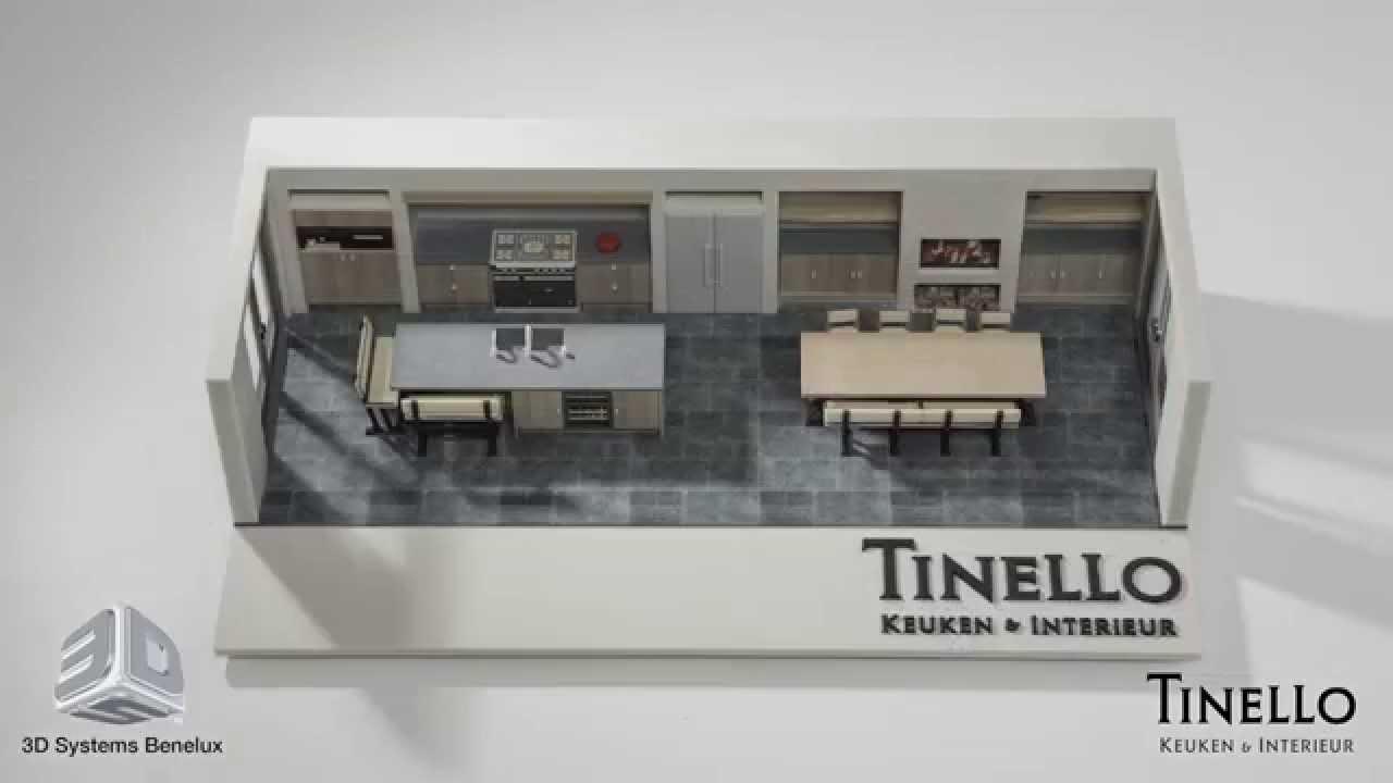 Virtual Reality Keuken : D printen van keukenmodellen door d systems benelux en tinello