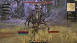 ESO - Veteran Dungeon Fungal Grotto - Dragonknight Tank - All Bosses