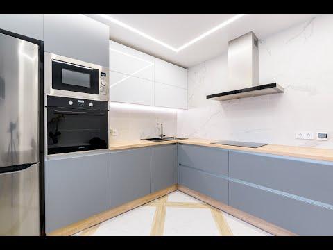 Обзор кухни из нанопластика FENIX. Project 97