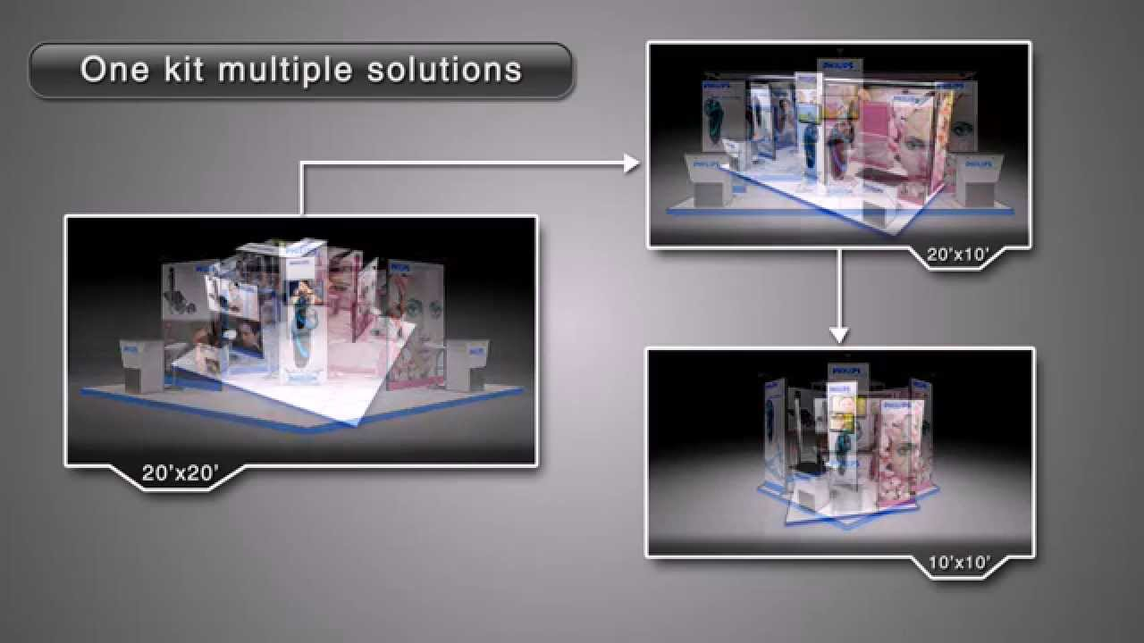 Modular Exhibition Stands Out : Modular exhibition stand solutions from insta exhibitions