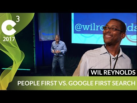 Consumer First Approach to Marketing | C3 2017 | Wil Reynolds