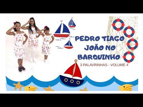 Pedro, Tiago, João no barquinho - 3Palavrinhas - Volume 4 - Coreografia   Cássia Wood