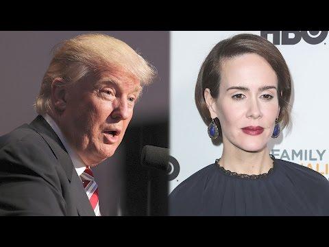 Sarah Paulson Wants to Play Donald Trump | Splash News TV