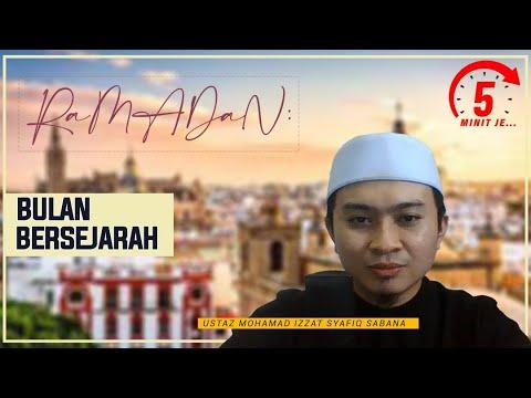 5 Minit Jer Ep 29: Ramadan Bulan Bersejarah